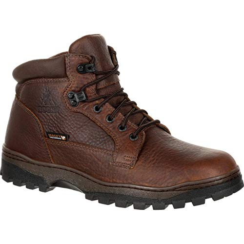 Rocky Men's Outback Waterproof Outdoor Boot Round Toe Brown 11.5 D (Boots Rocky Gore Tex)