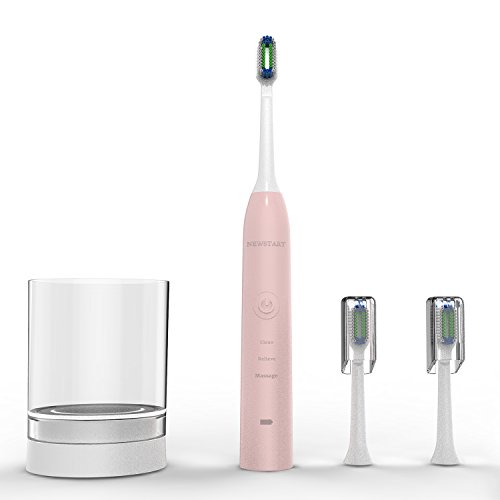 Sonic Electric Toothbrush NEWSTART 30 Days Power Electric Toothbrush 3 Modes Rechargeable Battery Electric Toothbrushes
