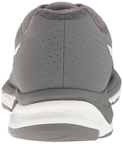 Mizuno Frauen Synchro MX Softball Schuh Grau weiß