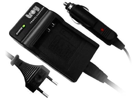 Troy Batería Cargador para Panasonic DMW-BCE10E, CGA-S008 ...