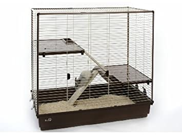 Maverik 1 - Jaula grande para ratas, hurones y chinchillas: Amazon ...