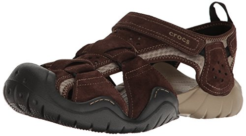 Crocs Swiftwater Suede Fisherman Sandal product image