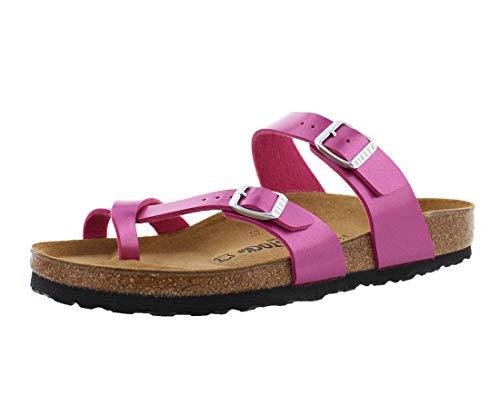 Birkenstock Women's Mayari Sandal Electric Magenta Birko-Flor Size 37 M EU