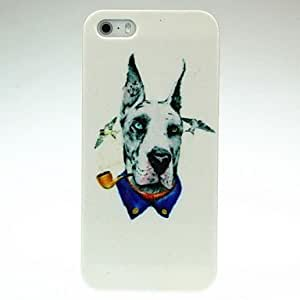 SOL ships in 48 hours Smoking Dog Pattern Hard Case for iPhone 4/4S