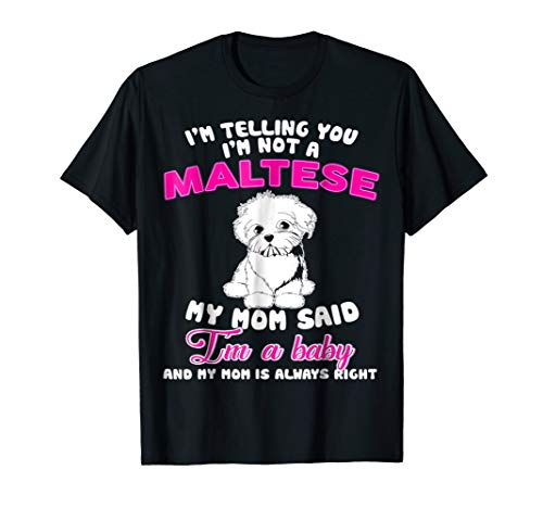 I'M Telling You I'M Not A Maltese - Womens Maltese
