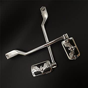 Motor Chrome Toe Foot Shifter Shift Peg Fit Harley Sportster Touring Softail New