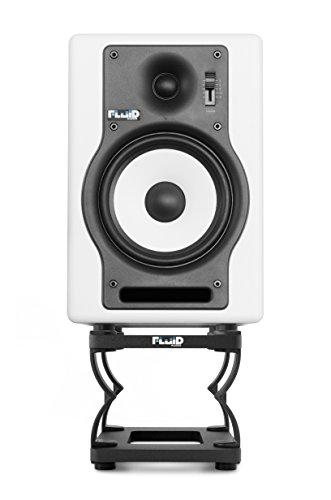 Fluid Audio DS5 Studio Monitor desktop stands
