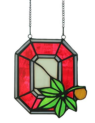 Alivagar NCAA Pendant Ornament Stained Glass Suncatcher, 5