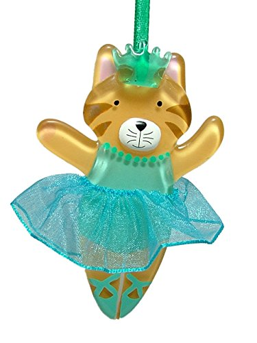 Ballerina Cat Christmas Tree Ornament
