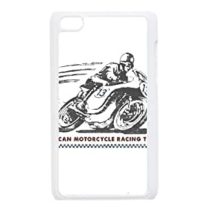 American Motorcycle Racing Team iPod Touch 4 Case White Pretty Present zhm004_5934644