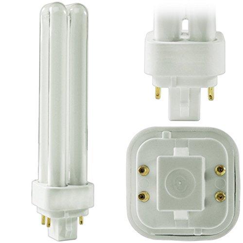 (12 Pack) PLC-18W 835, 4 Pin G24q-2, 18 Watt Double Tube, Compact Fluorescent Light Bulb, Replaces SYLVANIA 20672 - CF18DD/E/835/ECO and Philips 38332-3- PL-C 18W/835/4P/ALTO