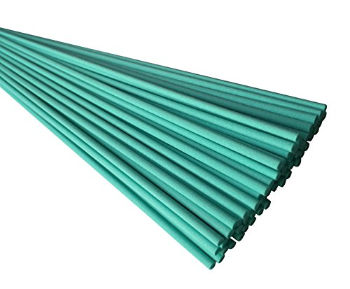 Breath Me TM 100pc Teal Color Fragrance Diffusers Replacement Fiber Reeds 12 inch for Aroma Diffuser