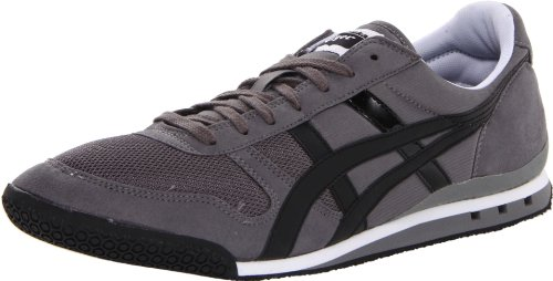 Onitsuka Tiger Men's Ultimate 81 Fashion Sneaker, Charcoal/Black, 4 M US