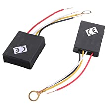 SODIAL(R) 2 X 110V 3Way Light Touch Sensor Switch Control for Lamp Desk Bulb Dimmer Repair