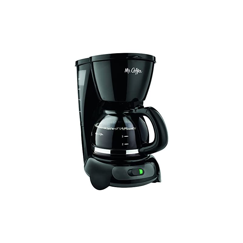 Mr. Coffee 4-Cup Switch Coffee Maker wit