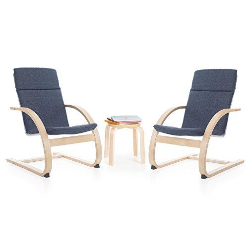 Guidecraft Kiddie Rocker Chair Set, Denim Guidecraft Blue Rocker