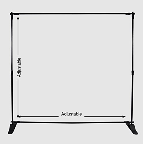 Kate 2.5x2.5m Background Stand Adjustable Backdrop Support System Kit with Carry Bag Photography Props for Studio