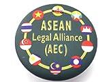 Asean Legal Alliance Aec Sign Symbol Pin Pinback