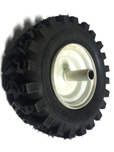 "fastoworld Set 2 7/8"" Wheels 13X500X6 Tires Rims Snowblower Snow Blower Thrower Snowthrower"