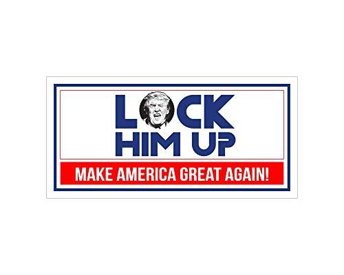 Best Deals On Lock Him Up Bumper Sticker Products