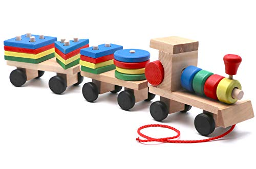 Wooden Train (Wooden Train with Blocks) ()