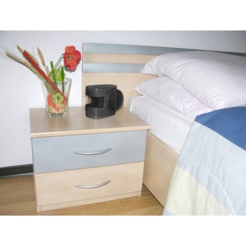 Mini Klimaanlage Mobile Klima L/üfter B/üro Auto Zuhause