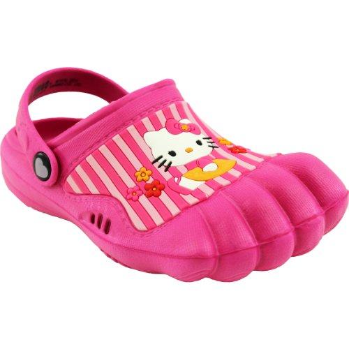 (Hello Kitty Kids Pink Silly Feet Clogs 01070 (2/3 M US Little Kid))