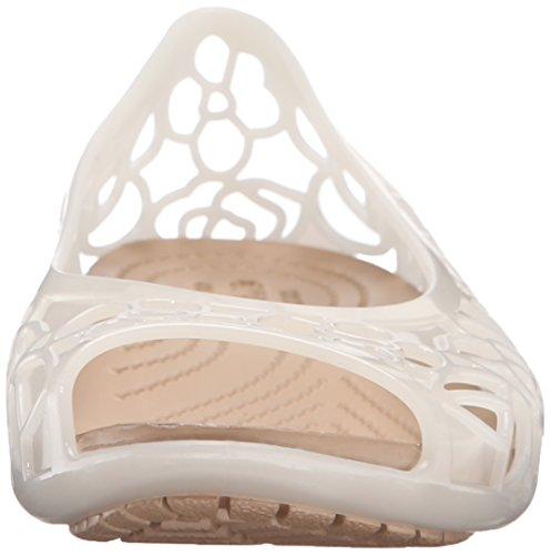 Oyster Women's Jelly Crocs Flat Isabella HSFdnwxqvx