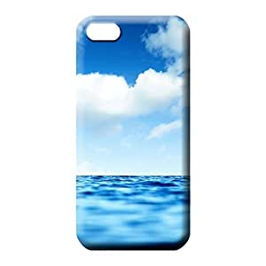 iphone 5 5s case Protective Protective phone back shell sky blue air white cloud
