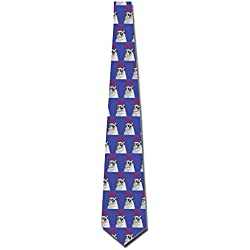 AGOGO Custome Grumpy Cat Ties
