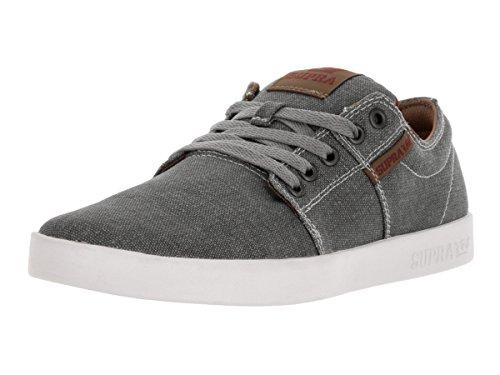 White Skate Stacks Spice Shoe II Supra Grey pfqBF7