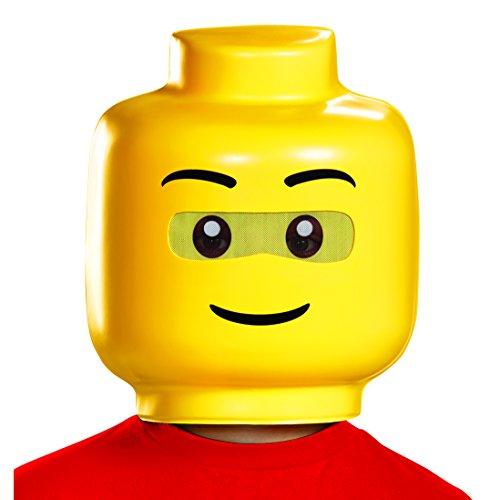 Disguise Lego Guy Child Costume Mask, One Size -
