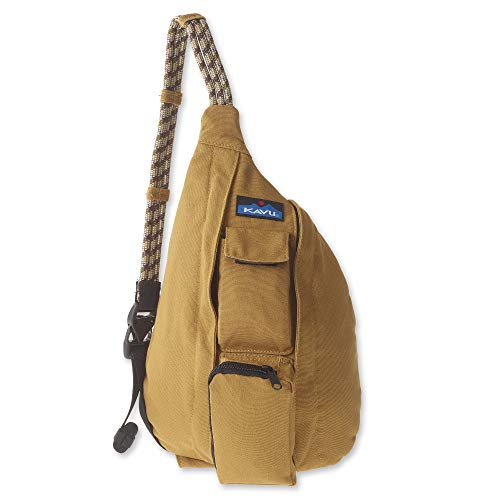 KAVU Mini Rope Bag Cotton Crossbody Sling Backpack  - Tobacco ()