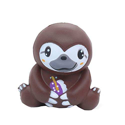 Clearance Sale!DEESEE(TM)Cute Sloth Decompression Slow Rising Squeeze Relieve Squishies Toys (02)]()
