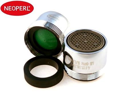 Neoperl Faucet Aerator Water saving Dual Threaded/ Aerated Stream 1.5 gpm -WaterSense