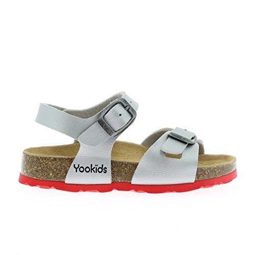 YOOKIDS - Tongs / Sandales - Chaton - Gris