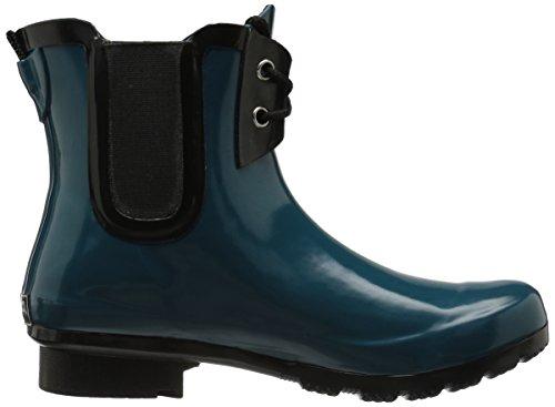 Roma Boots Womens Chelsea Lace-up Regenlaarzen Groenblauw