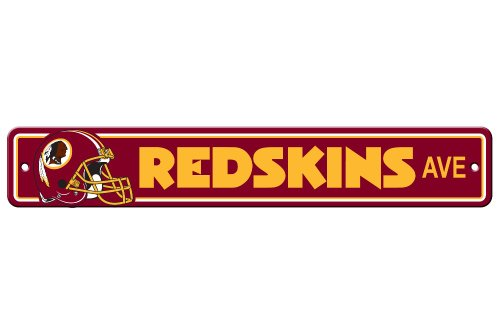 NFL Washington Redskins Plastic Street Sign (Washington Redskins Sign)