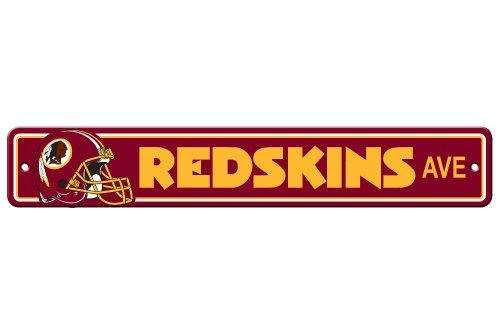 (Fremont Die NFL Washington Redskins Plastic Street Sign)