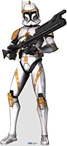 Commander Cody Clone Trooper (Star Wars: The Clone Wars) Life-size Standup Poster, 72x33
