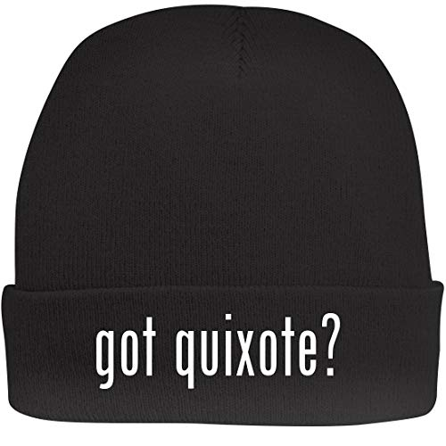 Shirt Me Up got Quixote? - A Nice Beanie Cap, Black, OSFA