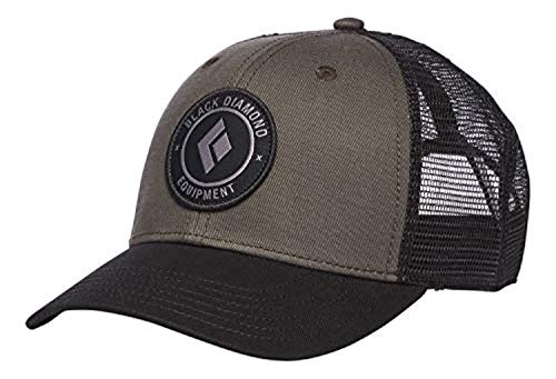 Black Diamond BD Trucker Hat Walnut-Black OS & Cooling Towel Bundle ()