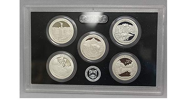 2011 S Parks Quarter Gettysburg Gem Deep Cameo Proof 90/% Silver US Coin