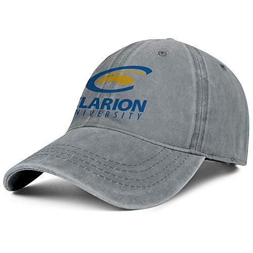 (Unisex Clarion-University-of-Pennsylvania- Baseball Cap Men Women - Classic Adjustable Cowboy Hat)