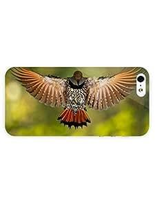 3d Full Wrap Case for iPhone 5/5s Animal Flying Bird46