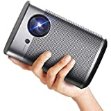 XGIMI Halo Smart Mini Projector, 1080P 800 ANSI Lumen Portable Projector, Android TV 9.0, Support 2K/4K, Wifi Bluetooth Indoor/Outdoor Theater more than 4000+ Apps directly from Google Play