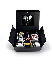 Walt Disney WMSET/20 set kopjes CAFFE Sweet Love, suikerpot en placemats, porselein, groen, 4 stuks