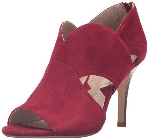 Adrienne Vittadini Footwear Women's Gerlinda Ankle Bootie Ruby 4KxXIQ