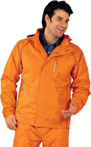 Regen-/Sommerbekleidung Monsun Jacke orange Größe XXXL