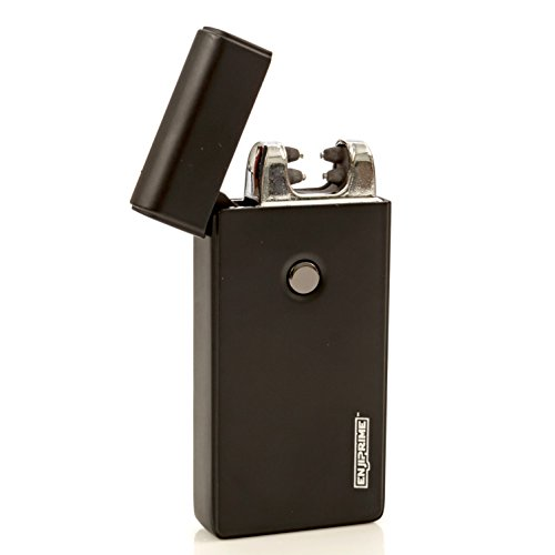 70-off-end-soon-Hurry-Best-Double-Arc-USB-Black-Electric-Rechargeable-Arc-Lighter-Enji-Prime-spark-At-The-Push-Of-a-Button-Flameless-Windproof-Eco-Friendly-Energy-Saving